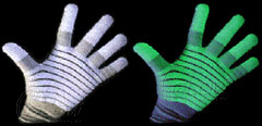 Glow Glove under UV light